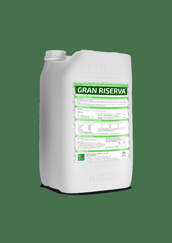 GRAN RISERVA è un biostimolante studiato per promuovere l'accumulo di sostanze di riserva nelle specie frutticole decidue in post-raccolta.